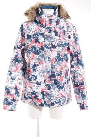 Roxy Winterjacke florales Muster sportlicher Stil