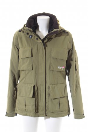 Roxy Winterjacke khaki-hellgrau Military-Look