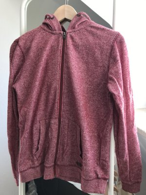 Roxy Capuchon sweater lichtrood