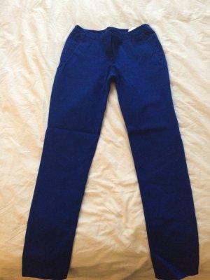 Royal-blaue Anzughose