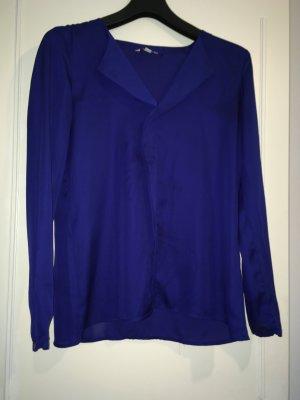 Royal blauen Bluse von Esprit