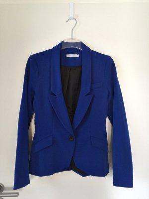 Royal blauer taillierter Blazer in Größe 34