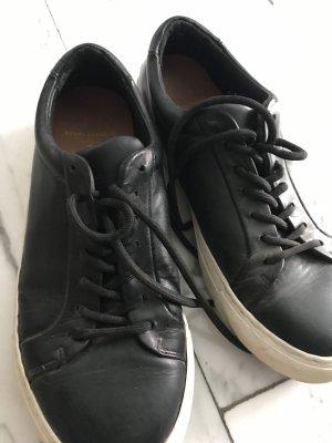 Royal republiq Lace Shoes black-white leather