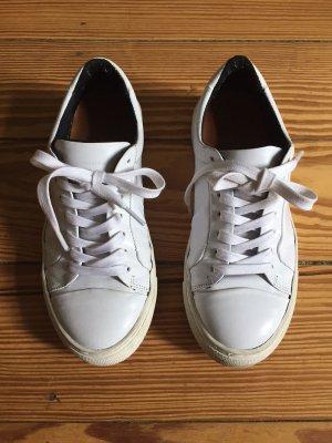 Royal RepubliQ ELPIQUE BASE SHOE - Sneaker Snealers Leder low - weiss - 38