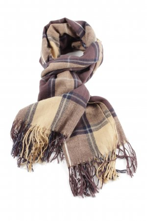 Royal Rossi Chasmere Woolen Scarf check pattern casual look