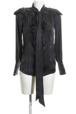 Royal Sunday Schlupf-Bluse schwarz extravaganter Stil