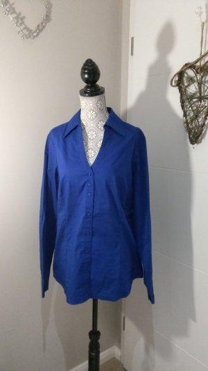 Royalblaue Bluse von Mexx