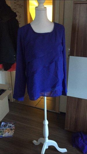 Royalblaue bluse von Vero moda