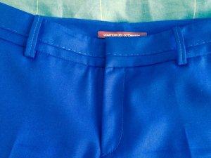 Royalblaue Bundfaltenhose von Comptoir des cotonniers in Größe  M