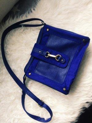Royalblaue Handtasche