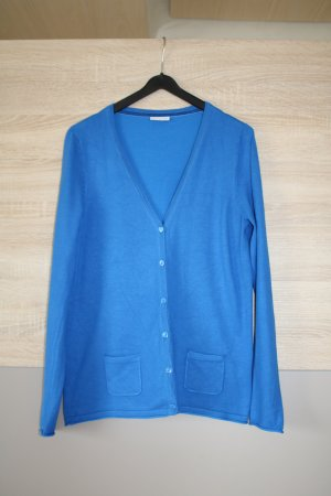 Street One Smanicato lavorato a maglia blu Viscosa