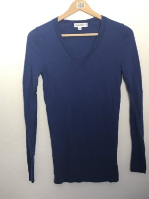Calvin Klein V-Neck Sweater blue