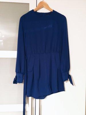 Zara Combinaison bleu-argenté