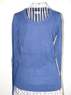royalblauer Pullover von Kiomi Größe M