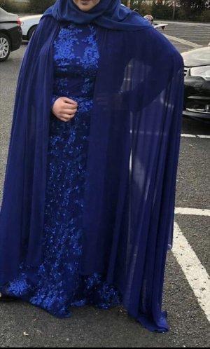 Royalblaues Abendkleid