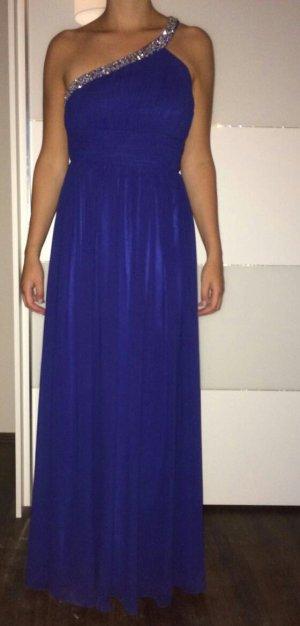 Royalblaues Abendkleid Größe 40 von Unique
