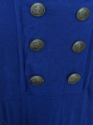 Jersey Dress blue-sand brown spandex