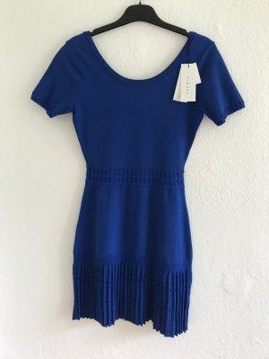 Royalblaues Kleid von SANDRO Paris, Gr.36D.(2), passt für Gr.34, Neu mit Etikette . LETZTE REDUZIERUNG!!!