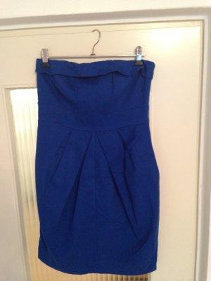 Royalblaues Kleid von Vero Moda, Größe 36