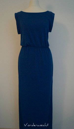 Royalblaues Maxikleid ohne Arm