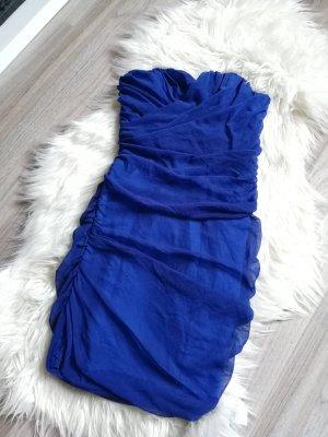 Rare london Mini-jurk blauw