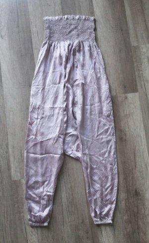 RP Jumpsuit Playsuit Einteiler Onepiece Anzug Harem Sarouel Hippie Boho Seide