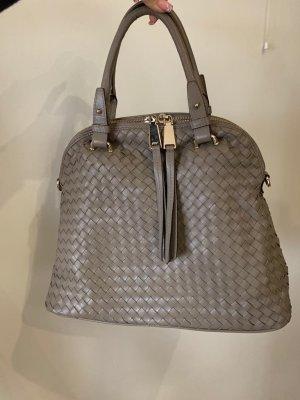 abro Handbag grey brown