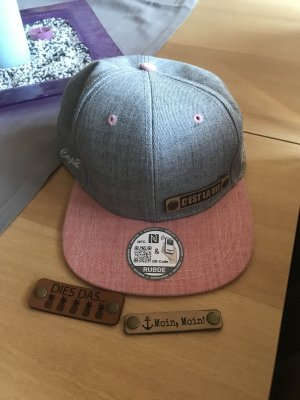 Baseball Cap light grey-pink