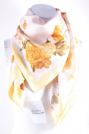 Rubinacci Pañuelo de seda estampado floral estilo clásico