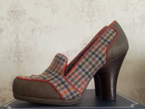 Mary Jane pumps veelkleurig Imitatie leer