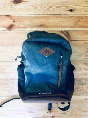 Decathlon School Backpack brown-grey
