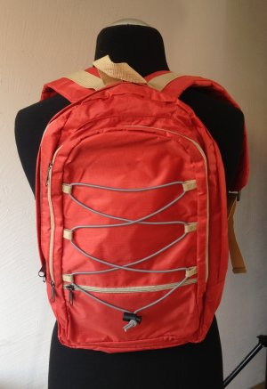 Trekking Backpack salmon textile fiber