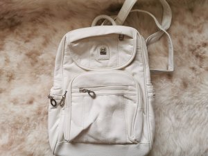 100% Fashion School Backpack natural white