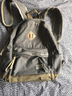 Laptop Backpack grey-sand brown