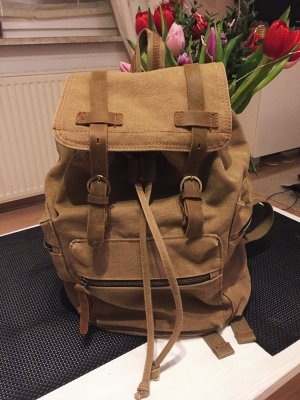 Canvas Backpack multicolored