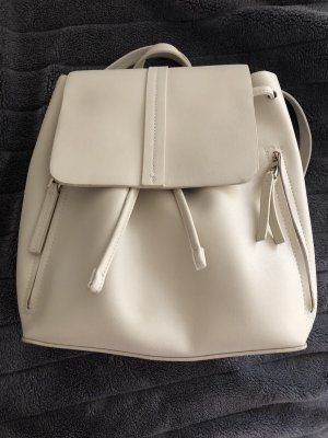 Zara School Backpack cream-natural white