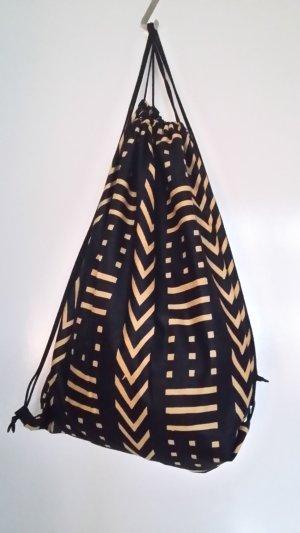 Mochila negro-marrón arena Algodón