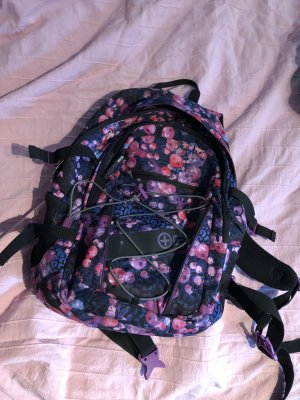 Plusminus Laptop Backpack multicolored