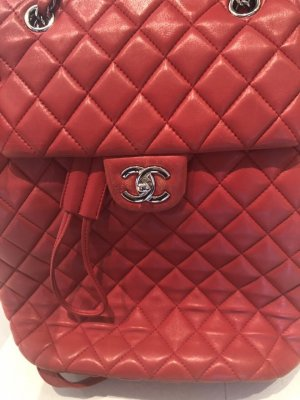 Chanel Sac à dos rouge