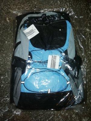 Rucksack grau/blau/schwarz NEU