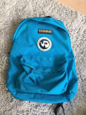 Napapijri School Backpack neon blue