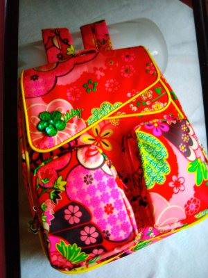 Oilily School Backpack red