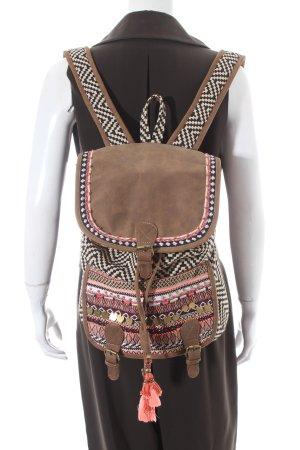 Rucksack mehrfarbig Gypsy-Look