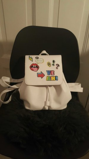 rucksack mini mit patches