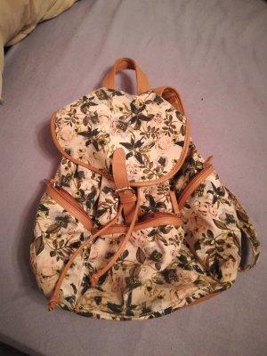 Rucksack mit floralem Aufdruck
