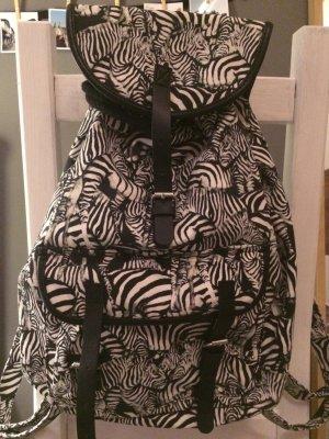 Rucksack mit Zebramuster