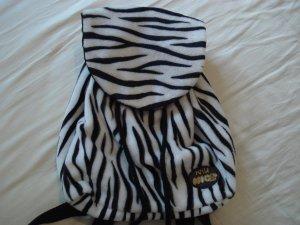 Rucksack mit Zebramuster aus Stoff