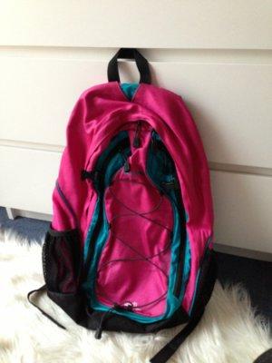 rucksack pink türkis