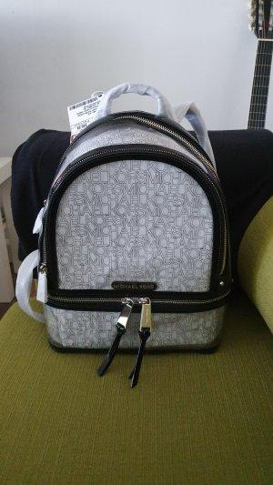 Michael Kors Backpack Trolley black-silver-colored