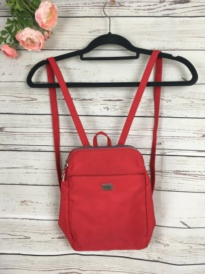 Backpack dark red-red